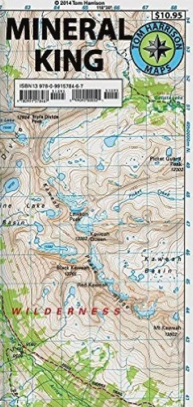 Mineral King Map
