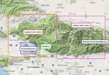 Mt Baldy-Cucamonga Wilderness Map