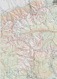 Mt Whitney High Country Map