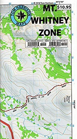 Mt Whitney Zone Map