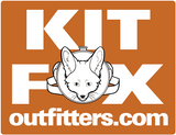 "KFO Logo ""Get The Fox Out There!"" Sticker"