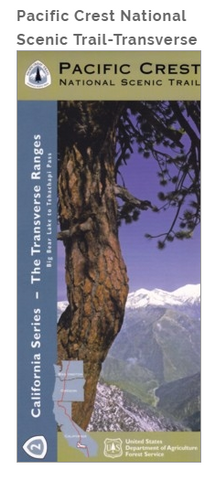 Pacific Crest National Scenic Trail-Transverse Ranges (PCT-2) Map