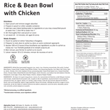 Rice and Bean Bowl with Chicken