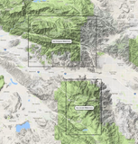 San Gorgonio Wilderness Map