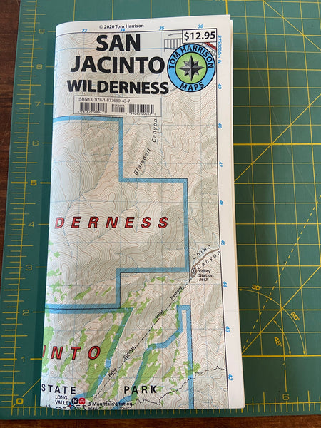 San Jacinto Wilderness Map