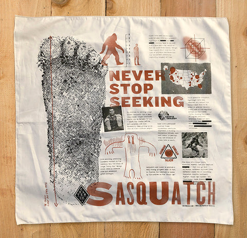 SASQUATCH HUNTER BANDANA