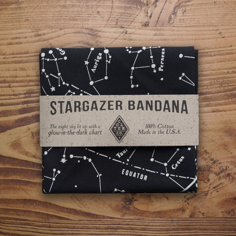 GLOW IN THE DARK STARGAZER BANDANA