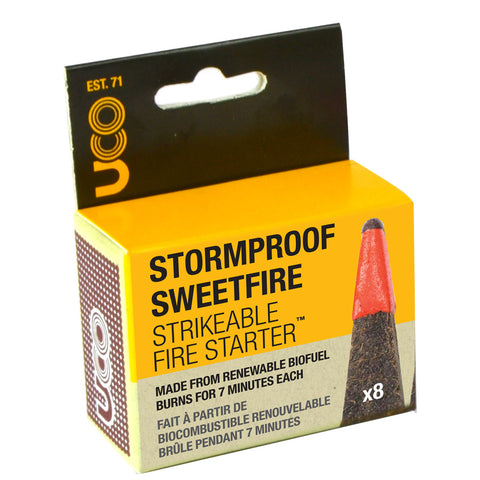 Stormproof Sweetfire Strikeable Matches - 8 Pack
