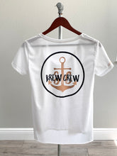 Load image into Gallery viewer, Brew Crew - Scoop Neck Tee - White