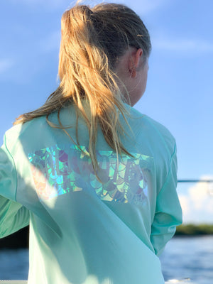 Miss Scales - Youth Performance UPF Long Sleeve - Mint