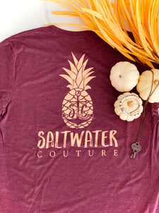 Saltwater Couture Mer-Apple Tee