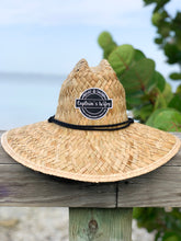 "Load image into Gallery viewer, ""Captain's Wifey"" Straw Hat"