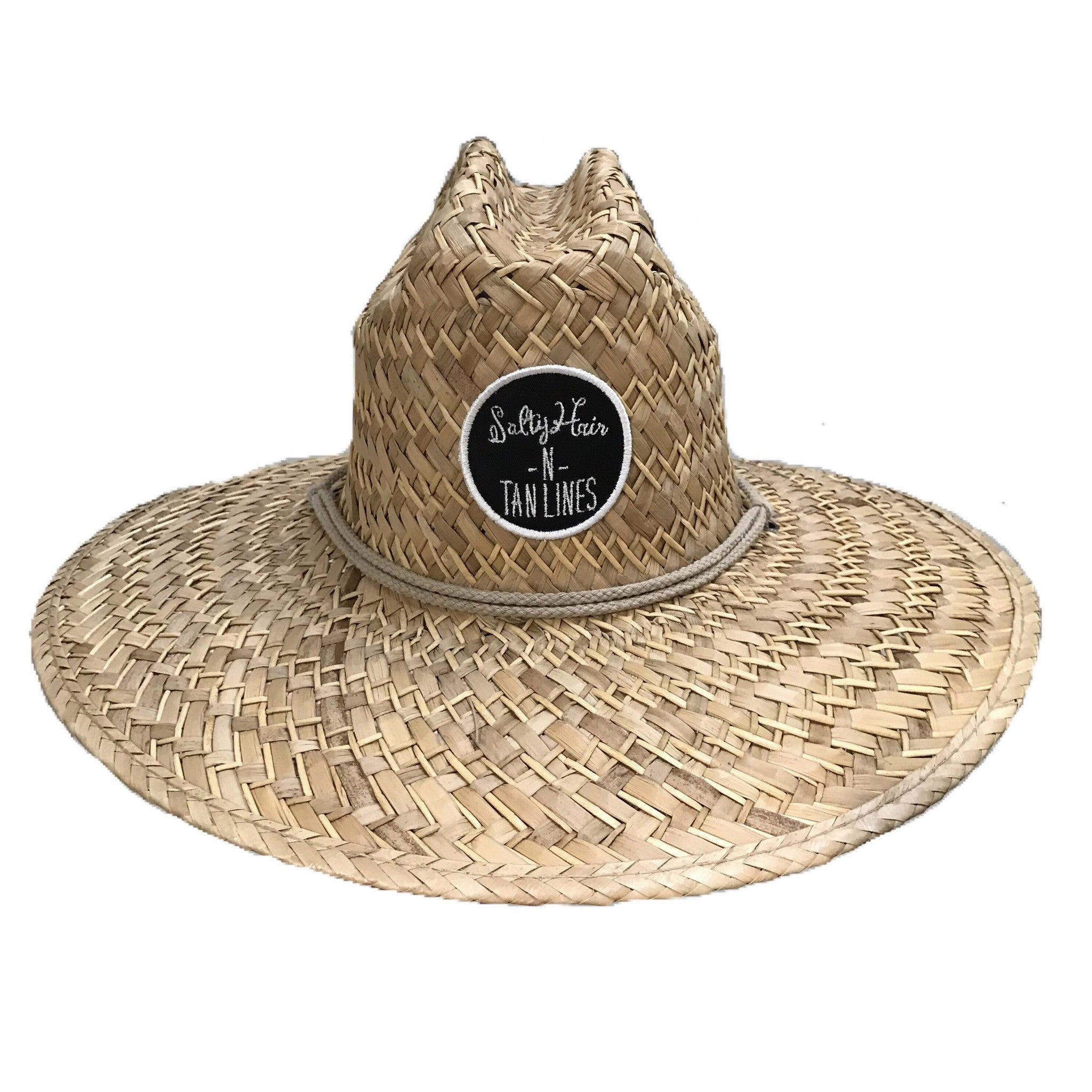 """Salty Hair N Tan Lines"" Straw Hat"