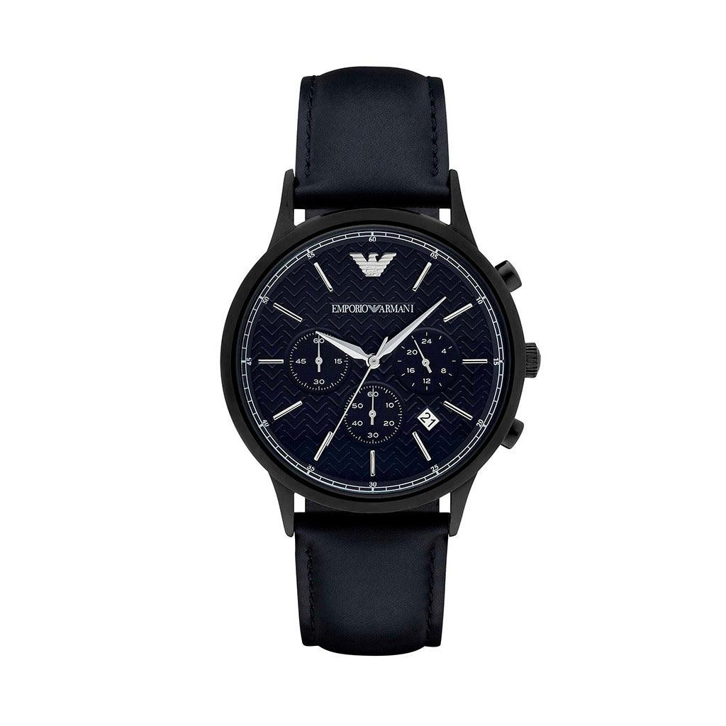 STYLIAN - Emporio Armani AR2481 Chronograph Men's Watch, Black