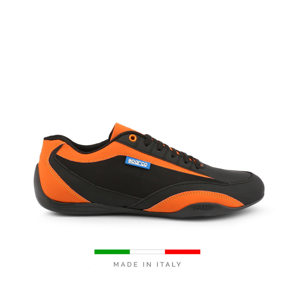 Sparco ZANDVOORT-N Men's Sneaker, Black & Orange