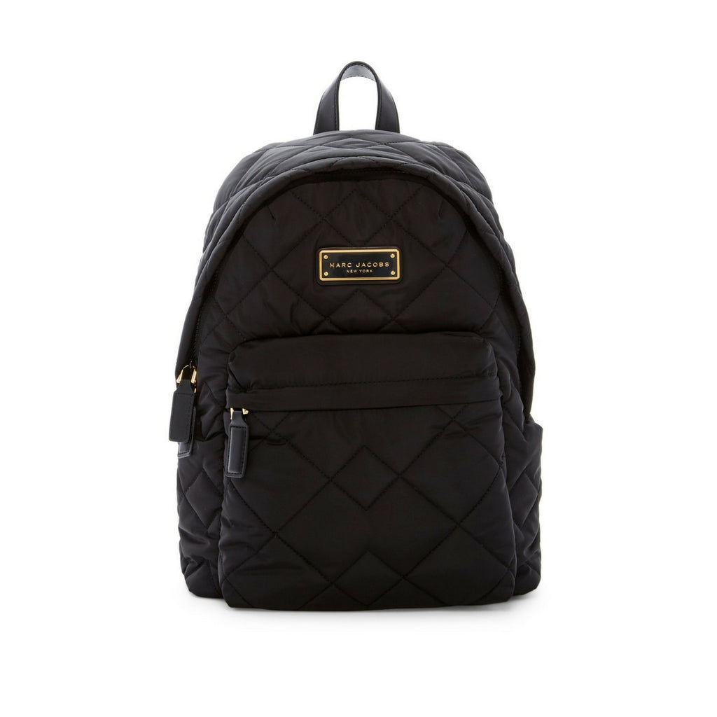 STYLIAN - Marc Jacobs Quilted Nylon Backpack, Black
