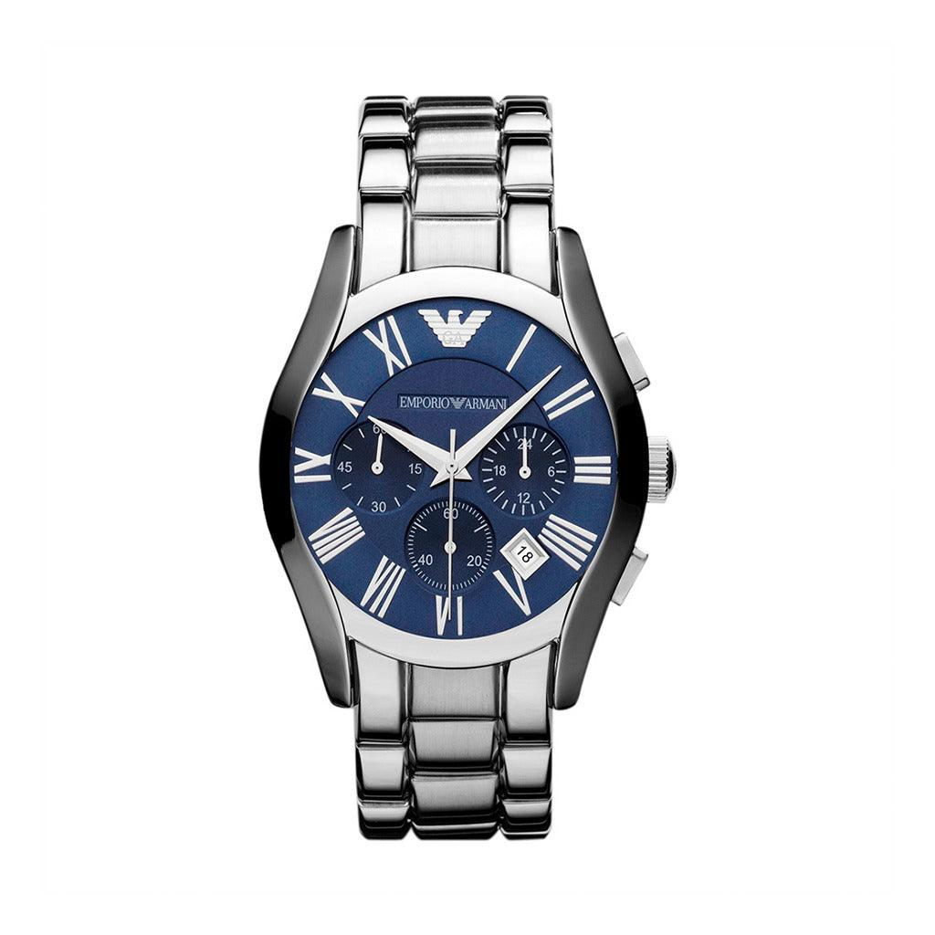 STYLIAN - Emporio Armani AR1635 Stainless Steel Chronograph Men's Watch, Blue