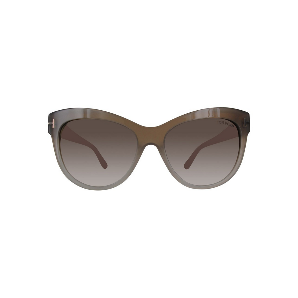 Tom Ford FT0430-59G Women's Sunglasses, Beige