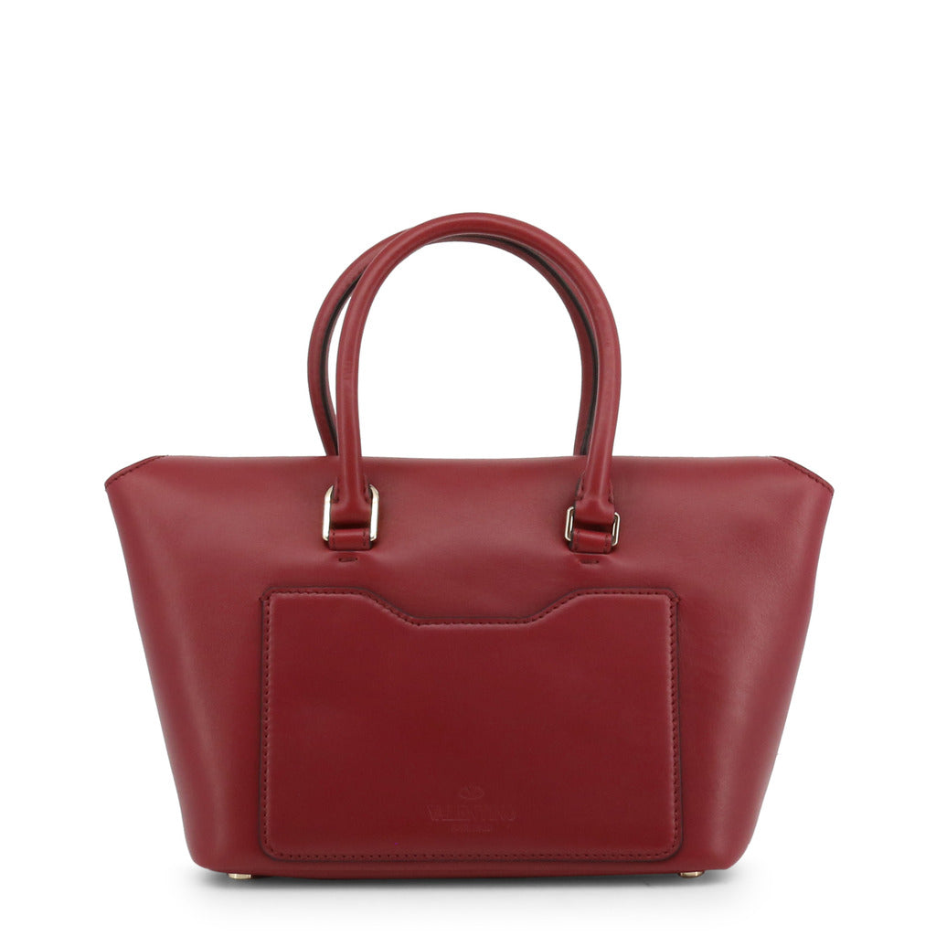 Valentino NW2B0A47MIVU27 Leather Shoulder Bag, Red