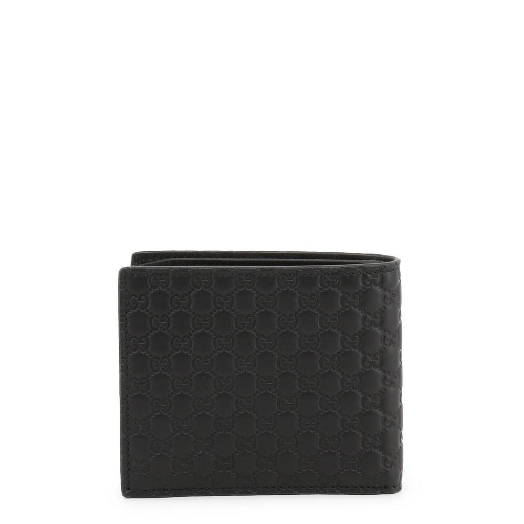 STYLIAN - Gucci 544472 BMJ1N Guccissima Leather Bifold Men's Wallet, Black
