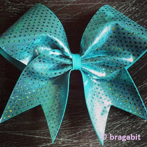 Bow with holographic dots - BRAGABIT