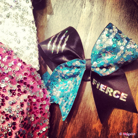 fierce cheer bow. - BRAGABIT