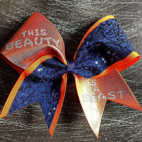 This beauty is a beast in orange and navy - BRAGABIT