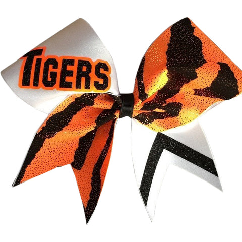 Tigers cheer bow - BRAGABIT