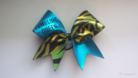 Tumbling queen cheer bow - BRAGABIT