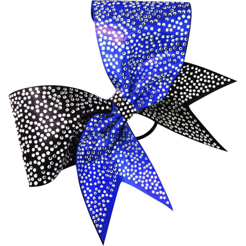 2 color mystique bow with rhinestones - BRAGABIT  - 1