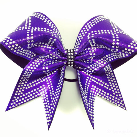 Bow with rhinestone design. - BRAGABIT  - 1