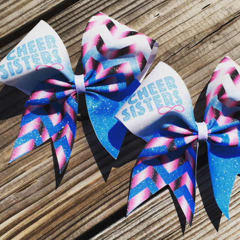 Cheer sisters bows. Price is for 2 bows. - BRAGABIT