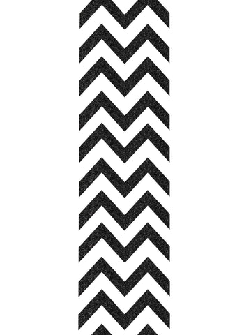 "Chevron glitter strip 3"" by 14"" - BRAGABIT  - 1"