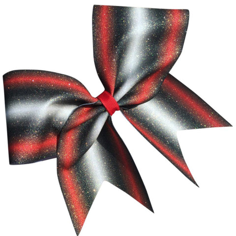 Double ombre bow. Can be made in different color combination . You can add matching keychain. - BRAGABIT  - 1