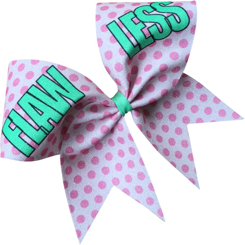 Flawless glitter bow - BRAGABIT