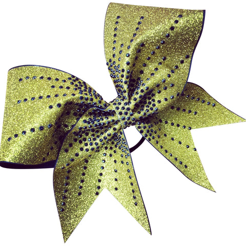 Glitter bow with starburst effect - BRAGABIT