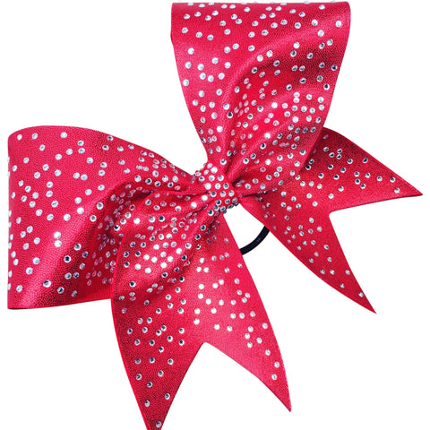 Mustique bow with scattered rhinestones - BRAGABIT