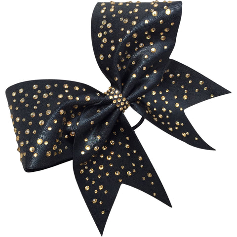 Mystique fabric bow with crystals! - BRAGABIT  - 1