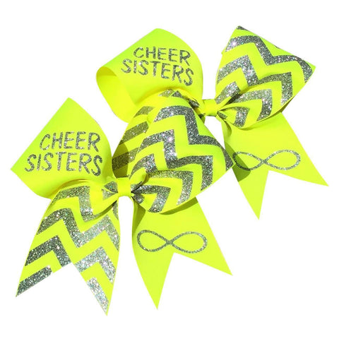 Neon cheer sisters bows . Price is for 2 bows. - BRAGABIT