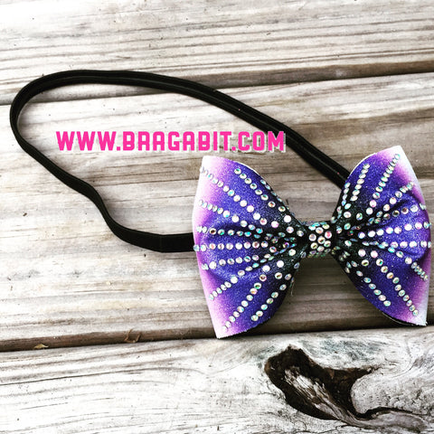 Purple ombre headband - BRAGABIT