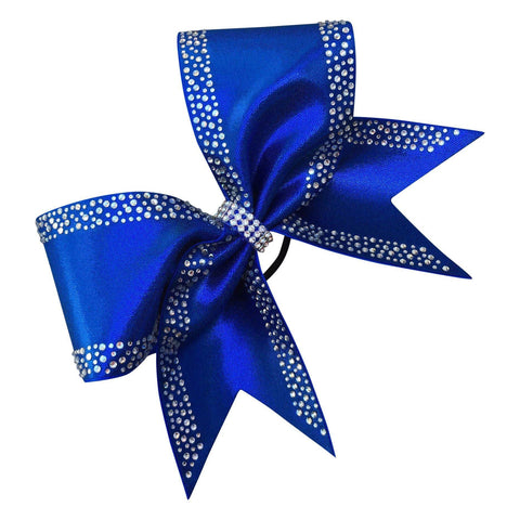 Default Type - Royal Blue Bow With Rhinestones