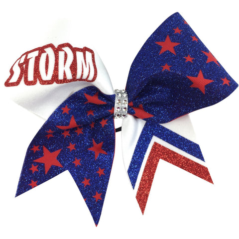 Storm cheer bow with stars. - BRAGABIT  - 1