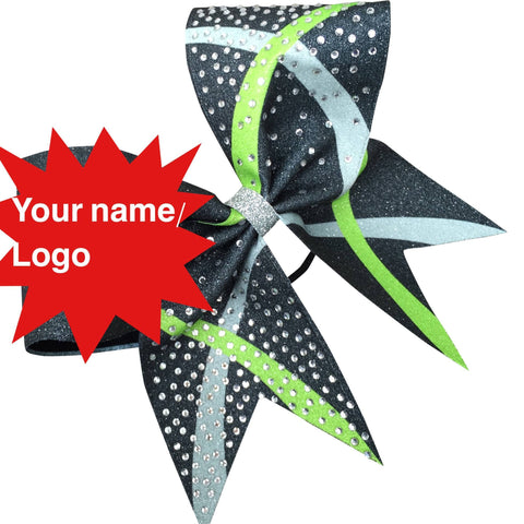 Sublimated bow . You choose 3 colors , add your bame or logo. - BRAGABIT