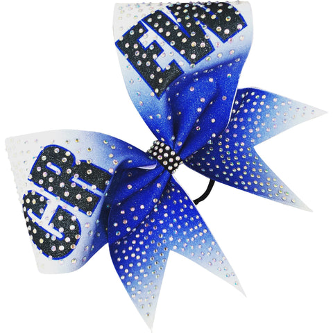 Sublimated 'crew bow' with AB rhinestones. - BRAGABIT  - 1