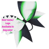 Sublimated glitter bow. Available in any color! - BRAGABIT  - 1