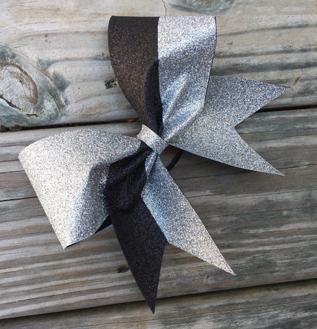 Caden Glitter Cheer Bow/Softball Bow