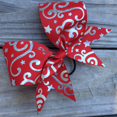 Swirly Swirls Ribbon Bow