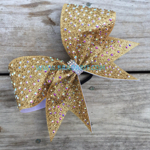 Aoko Rhinestone Cheer Bow