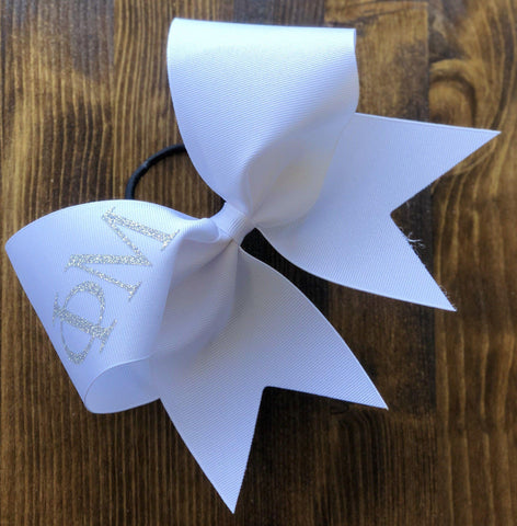 Ribbon bow with your design
