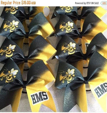 You Choose Colors/Team Name/Mascot. (1 bow)